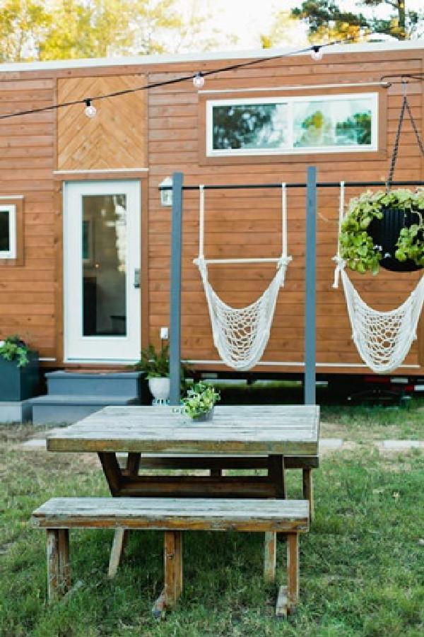 Đôi vợ chồng trẻ vẫn sống hạnh phúc trong căn nhà 28m² bình yên - ảnh 3