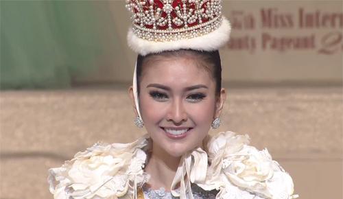 Thùy Dung trượt top 15 Hoa hậu quốc tế 2017 - ảnh 1
