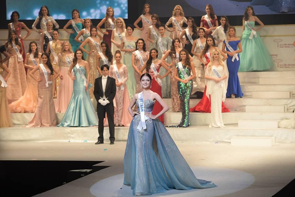 Thùy Dung trượt top 15 Hoa hậu quốc tế 2017 - ảnh 7