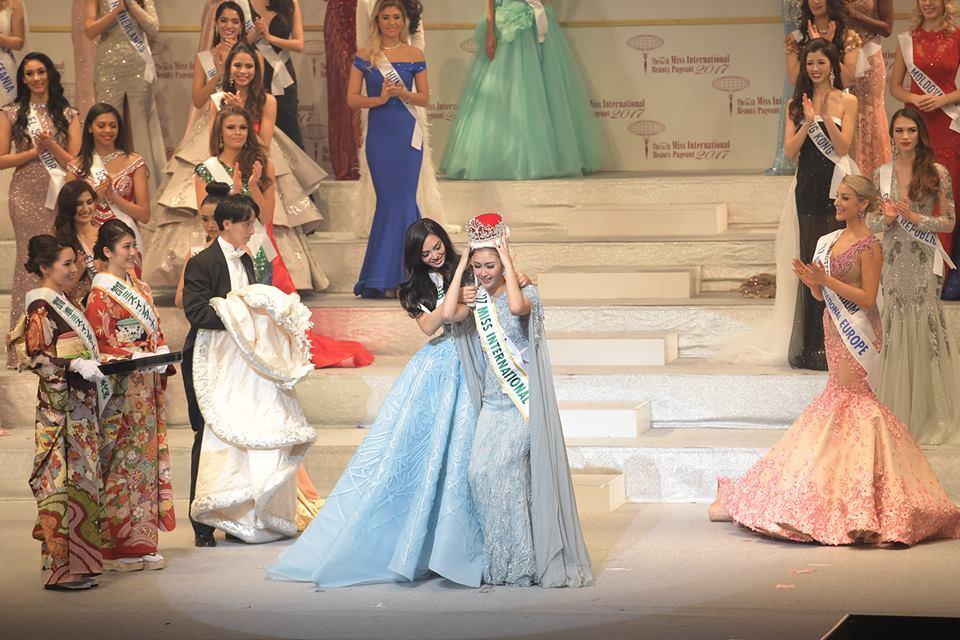 Thùy Dung trượt top 15 Hoa hậu quốc tế 2017 - ảnh 2