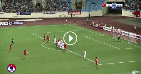Việt Nam 0-0 Afghanistan phút 16