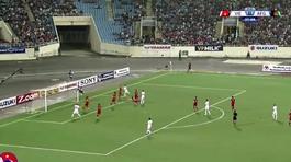 Video thủ môn Tuấn Mạnh làm nản lòng các chân sút Afghanistan