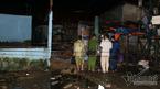 Sập tường khi cải tạo cây xăng, một gia đình bị thương