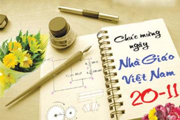 Sự kiện chào mừng ngày nhà giáo Việt Nam 20/11