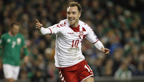 Video bàn thắng CH Ailen 1-5 Đan Mạch