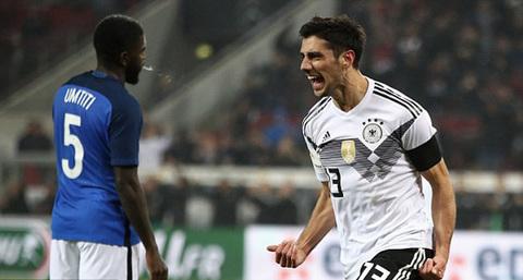 Video bàn thắng Đức 2-2 Pháp