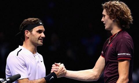 Federer 2-1 Zverev