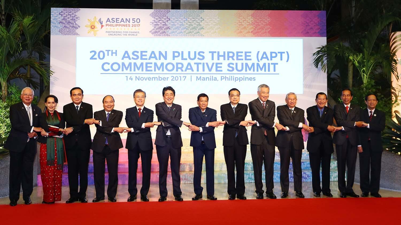 Nguyễn Xuân Phúc,Thủ tướng Nguyễn Xuân Phúc,ASEAN