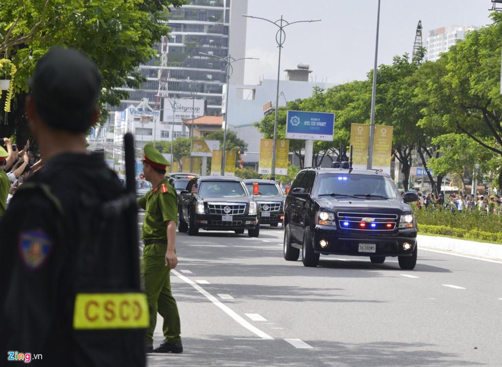Chuyện chưa kể về dàn xe hộ tống Tổng thống Trump ở Việt Nam