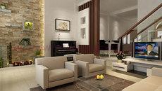 Phối màu nội thất cho nhà phố đẹp lung linh
