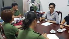 Diễn viên Ngô Thanh Vân làm việc với công an