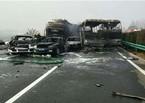 Đâm xe kinh hoàng trên đường cao tốc TQ, hàng chục người thương vong