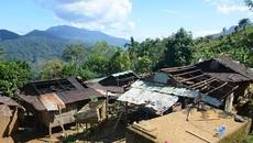 Lở núi 5 người chết, hàng trăm dân bỏ làng