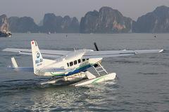 Bay từ Hà Nội ra đảo Cô Tô mất 1h bằng thủy phi cơ