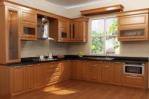 Những mẫu tủ bếp gỗ tuyệt đẹp không thể bỏ qua