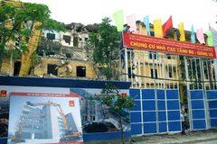 Cải tạo chung cư cũ: Hà Nội mất 10 năm để di dời 50 hộ dân