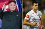 Jong Un mời 'sao' bóng bầu dục Anh tới Triều Tiên