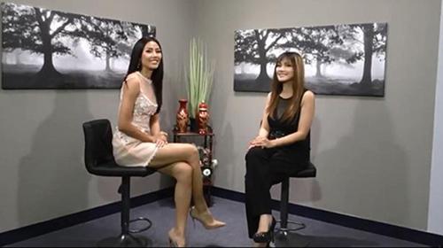 Nguyễn Loan bất ngờ xuất hiện trên kênh truyền thông nước ngoài