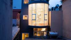 Thiết kế độc giúp nhà 35m2 vẫn ngập ánh sáng