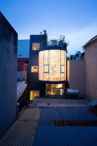 Thiết kế độc giúp nhà 35m2 vẫn ngập ánh sáng - Tin Tức Bất Động Sản Việt Nam