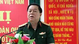 Tướng Nguyễn Trọng Nghĩa nói về việc kỷ luật Phó Tư lệnh Quân khu 1