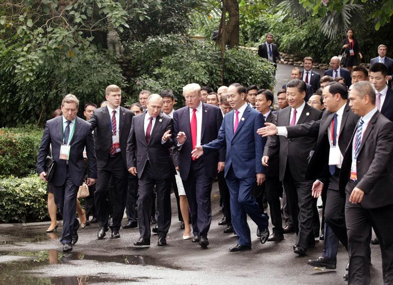 APEC 2017,Đà Nẵng,Tập Cận Bình,Donald TRump,Toàn cầu hóa,Đa phương hóa,Putin