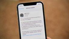 Apple tung bản cập nhật iOS 11.1.2 vá lỗi iPhone X tê liệt vì trời lạnh