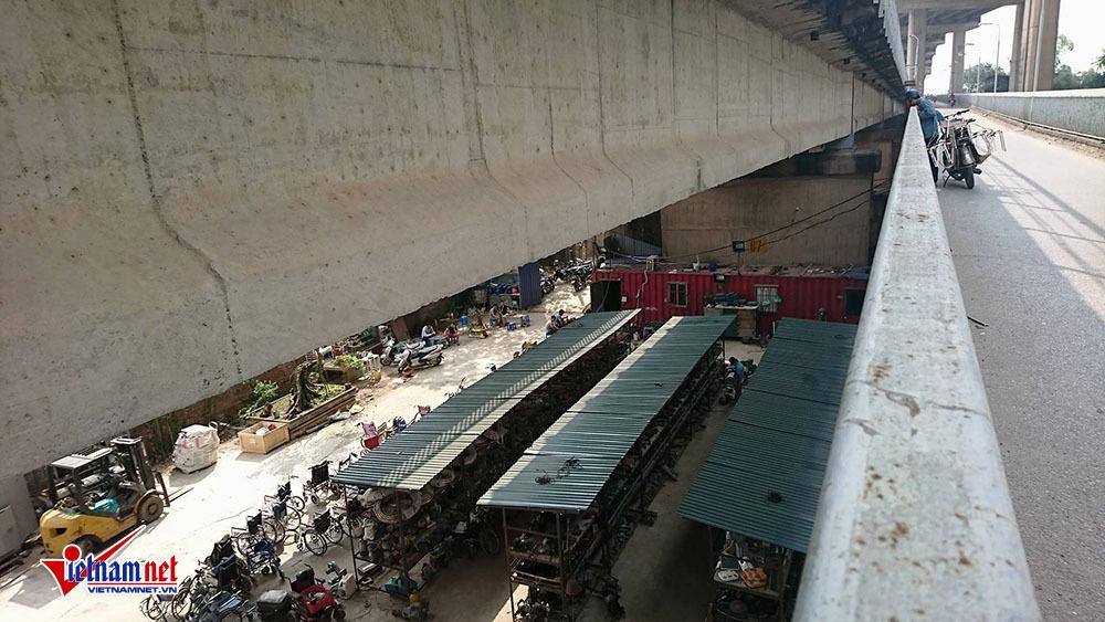Cầu Thăng Long,buôn bán