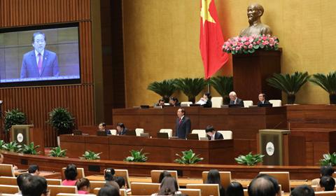 Chất vấn Bộ trưởng Trương Minh Tuấn