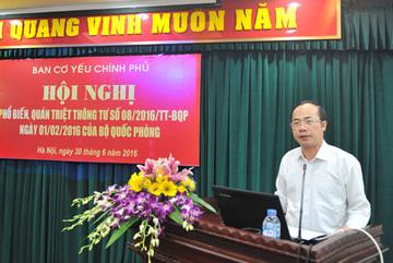 Thiếu tướng Nguyễn Đăng Đào giữ chức Phó Trưởng ban Ban Cơ yếu Chính phủ