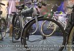 Xe đạp gắn máy đời cổ trị giá bằng 3 chiếc SH trưng bày tại Hà Nội