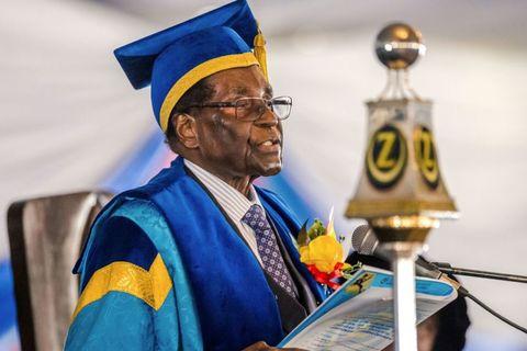 Mugabe xuất hiện trước công chúng