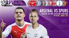 Trực tiếp Arsenal vs Tottenham: Nảy lửa derby London