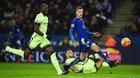 Trực tiếp Leicester vs Man City: Hiểm nguy rình rập
