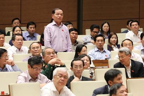 Chất vấn và trả lời chất vấn đại biểu Lê Thanh Vân