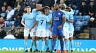 Đè bẹp Leicester, Man City cho MU ngửi khói