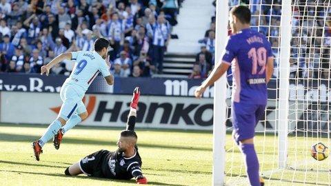 Leganes 0-3 Barca
