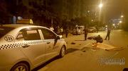 Va chạm taxi nửa đêm ở Hà Nội, người đàn ông tử vong