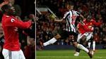 Pogba và Ibra tái xuất, Lukaku ghi bàn đưa MU lên số 2 BXH