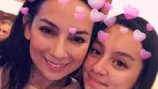 Phi Nhung khoe hình ảnh xì tin bên con gái