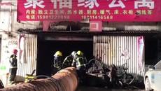 Cháy chung cư ở Bắc Kinh, hàng chục người thương vong