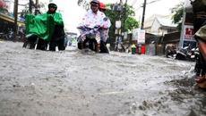 Chiều nay, Sài Gòn có thể ngập nặng vì mưa và triều cường