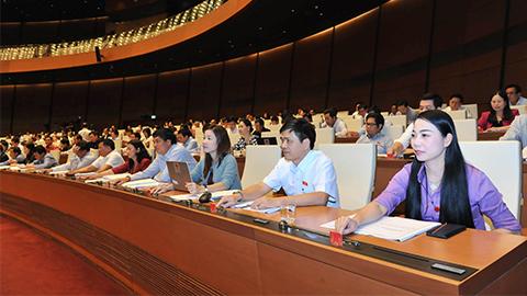 QH biểu quyết đền bù sân bay Long Thành và cao tốc Bắc-Nam