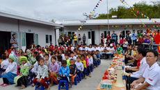 Hơn 800 triệu đồng xây dựng trường học cho trẻ em vùng cao