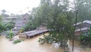 Lũ lại nhấn chìm nhà dân ở Thừa Thiên - Huế