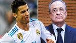 """Real Madrid khủng hoảng: Perez """"nắn gân"""" Ronaldo"""
