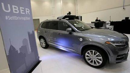 Uber tậu 24.000 xe Volvo tự hành, chuẩn bị ra dịch vụ ôtô không người lái