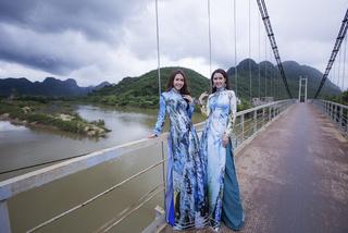 Phan Thị Mơ, Phan Thu Quyên khoe sắc với áo dài