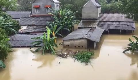 ngập lụt Huế
