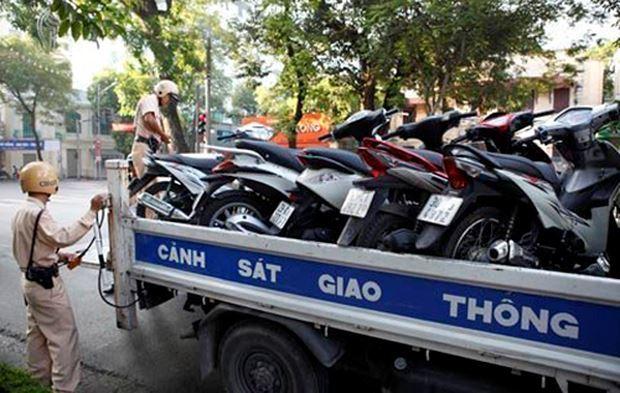 Cảnh sát được quyền cẩu, tạm giữ ô tô đỗ sai quy định trong trường hợp nào?